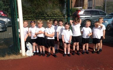 Reception runners!