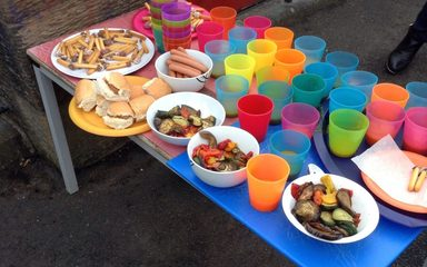 EYFS bonfire party