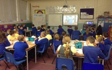 BBC live lesson!