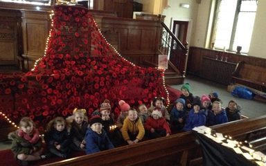 Remembrance Day visit to the church