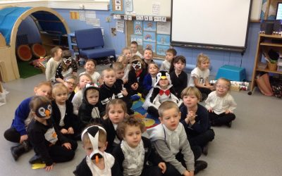 Penguin Day in Reception.