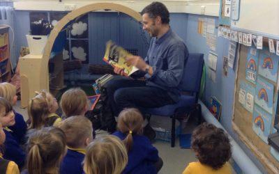 Two mystery readers in one week, what a treat!