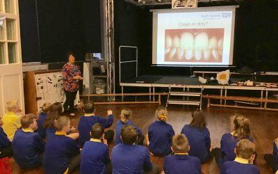 Healthy teeth workshop.