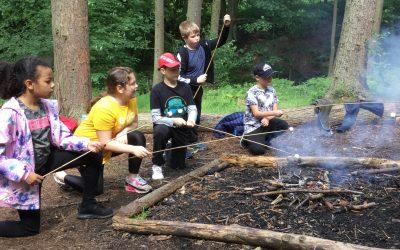 Campfires at Gibside