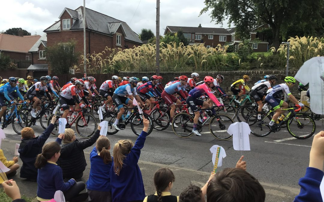 Tour of Britain comes to Blaydon!
